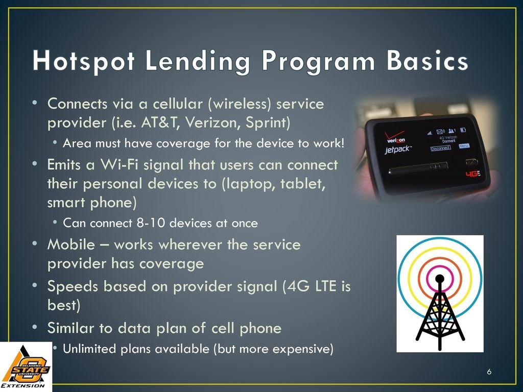 Rural Library Hotspot Lending Programs - ppt download