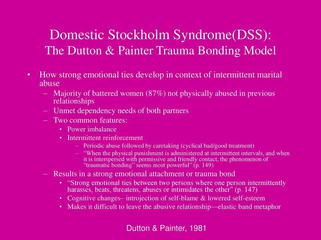 stockholm syndrome domestic abuse