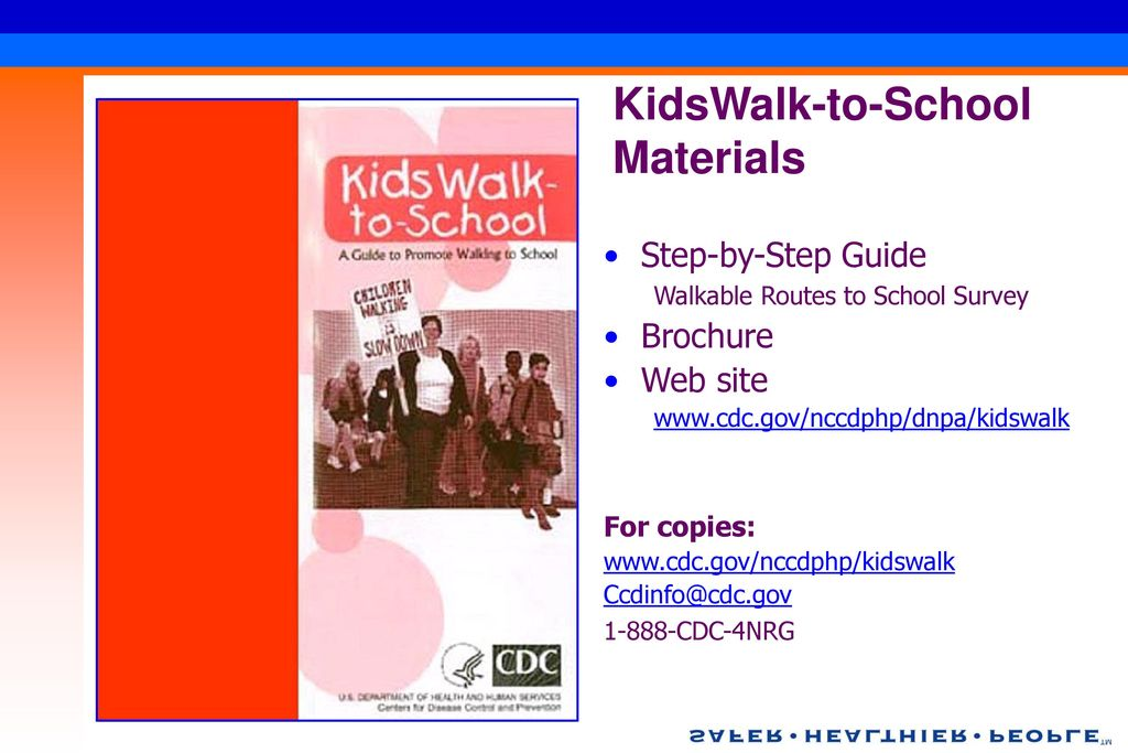 KidsWalk-to-School Materials