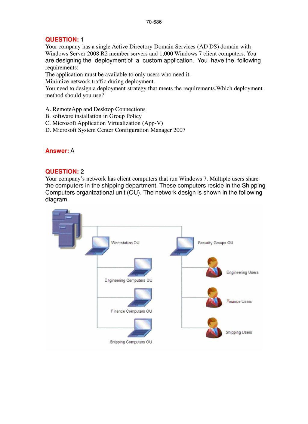 Microsoft Pro: Windows 7, Enterprise Desktop Administrator