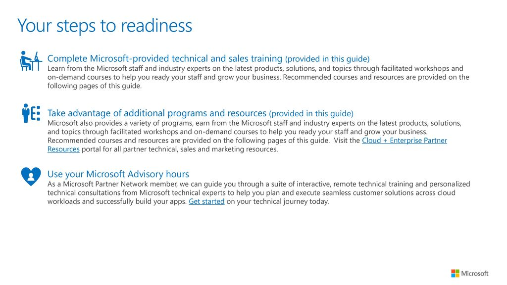 partner readiness guide cloud infrastructure management ppt download