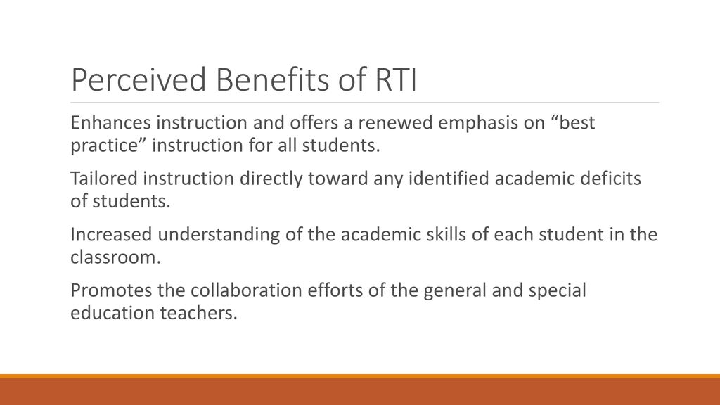 Study Rti Practice Falls Short Of >> Response To Intervention Rti Ppt Download
