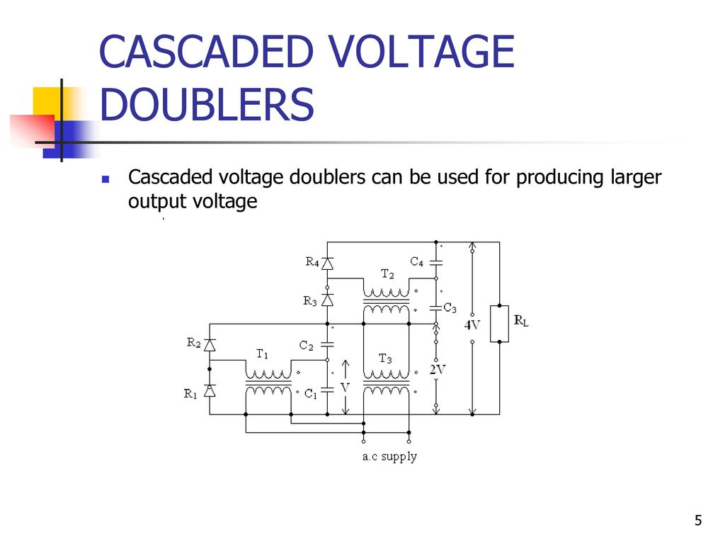 Ee 2353 High Voltage Engineering Ppt Download Dc Doubler Circuit Cascaded Doublers