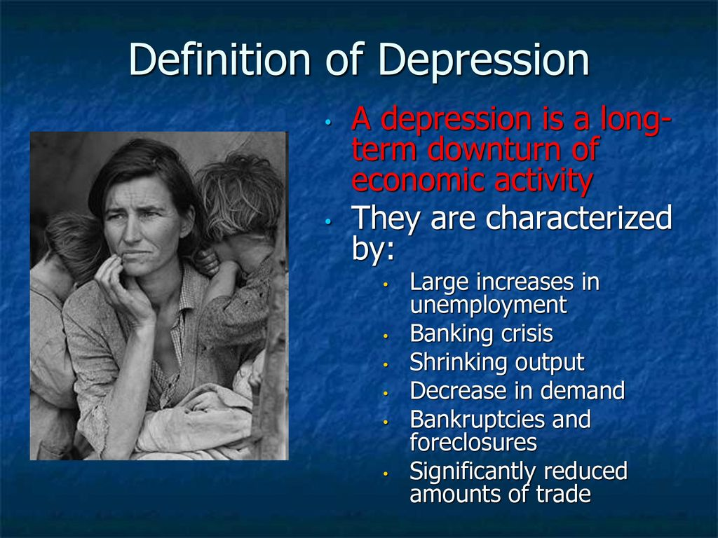 the great depression. - ppt download