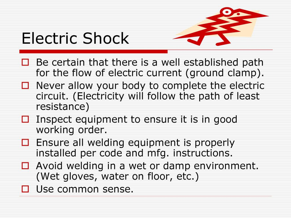 Welding Safety The Basics Ppt Download Electronic Circuit 3 Electric