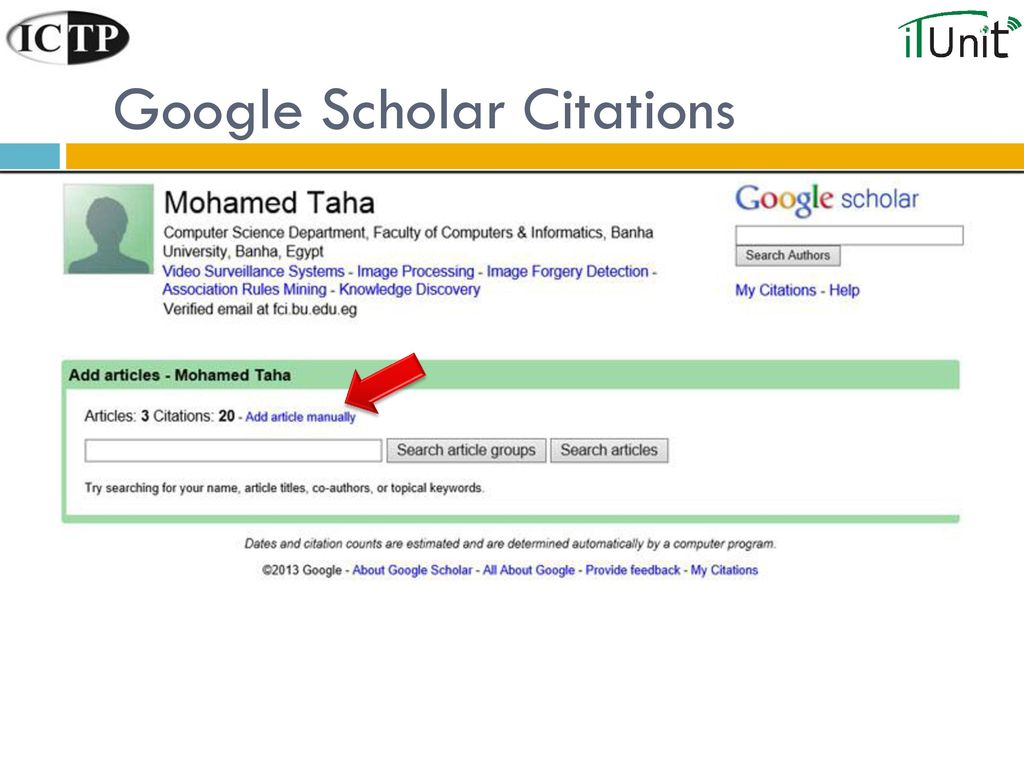 How To Use Google Scholar An Educator S Guide Ppt Download