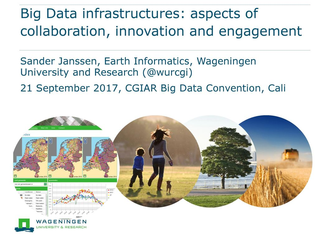 Sander Janssen, Earth Informatics, Wageningen University and