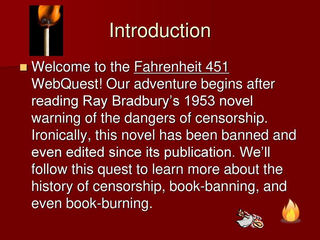 fahrenheit 451 censorship theme