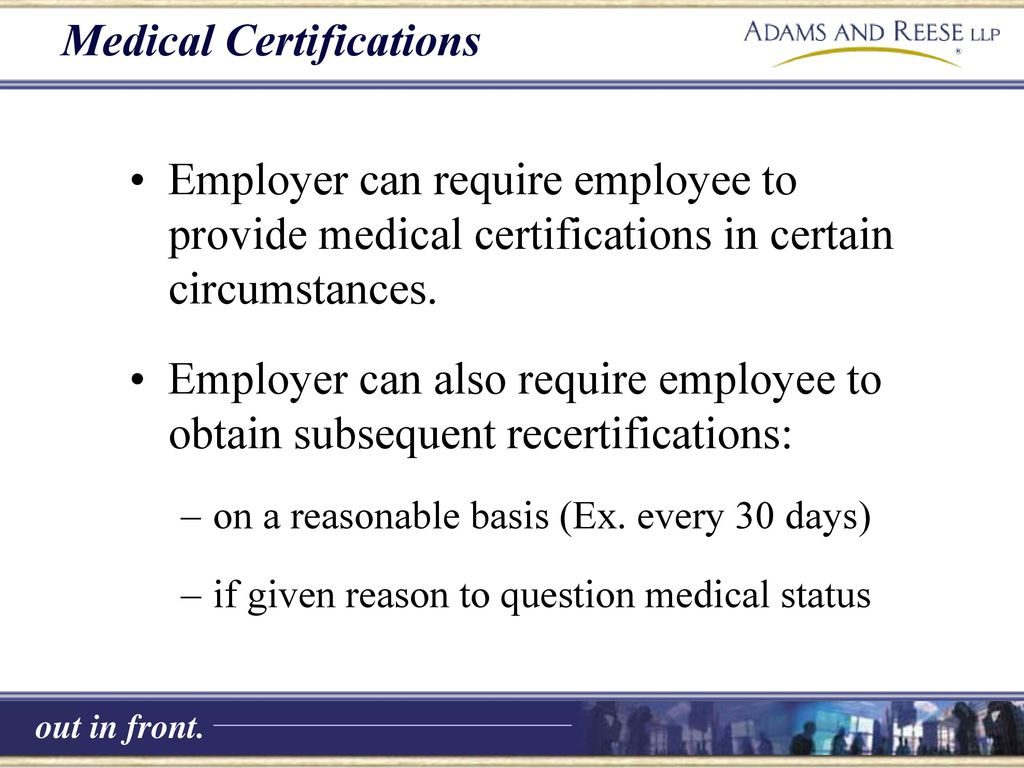 Family And Medical Leave Act Fmla Ppt Download
