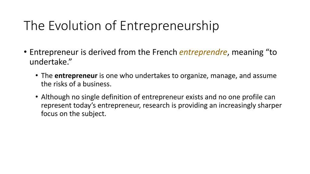 CHAPTER # 1 Introduction to Entrepreneurship, 8e Donald F