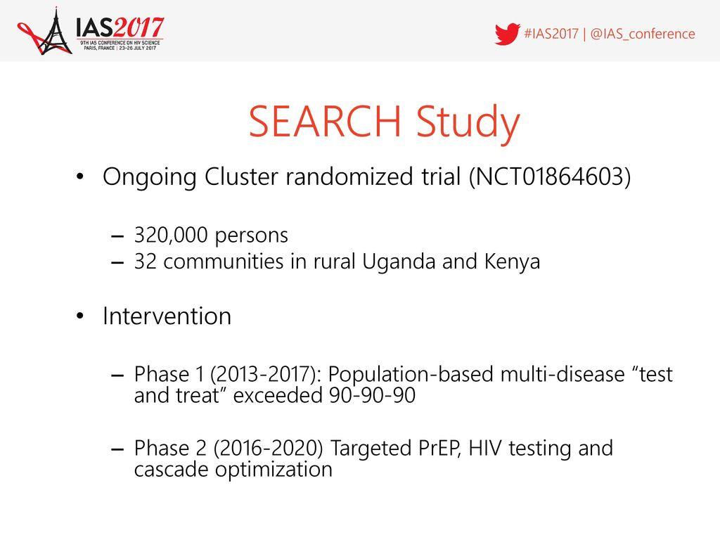 "Early Adopters"" of PrEP in SEARCH study in rural Kenya and"