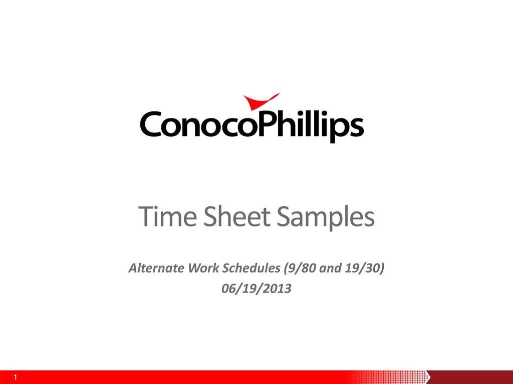 alternate work schedules 9 80 and 19 30 06 19 ppt download
