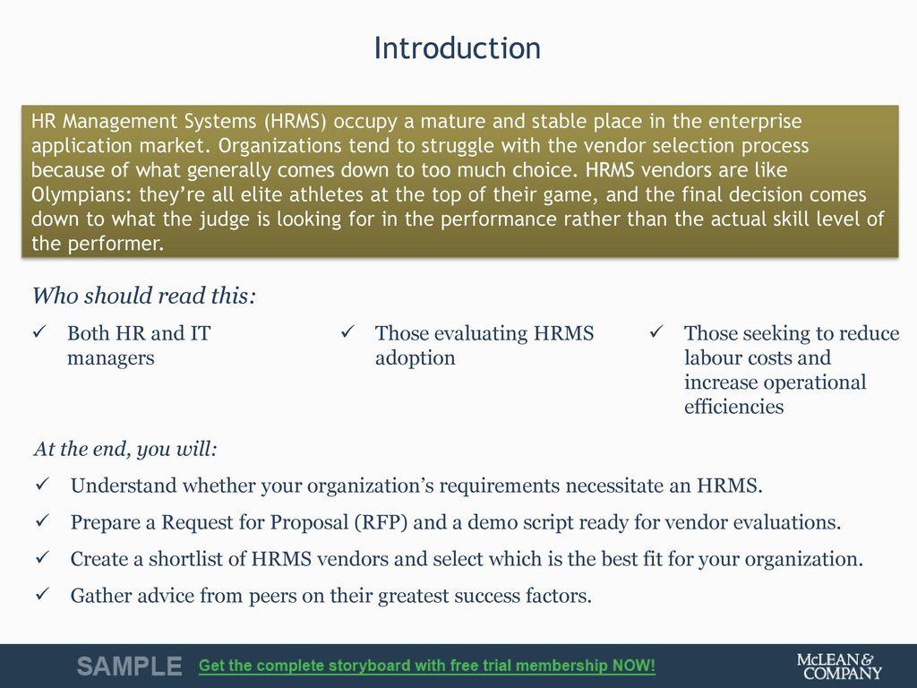 Vendor Landscape Plus: HR Management Systems - ppt download