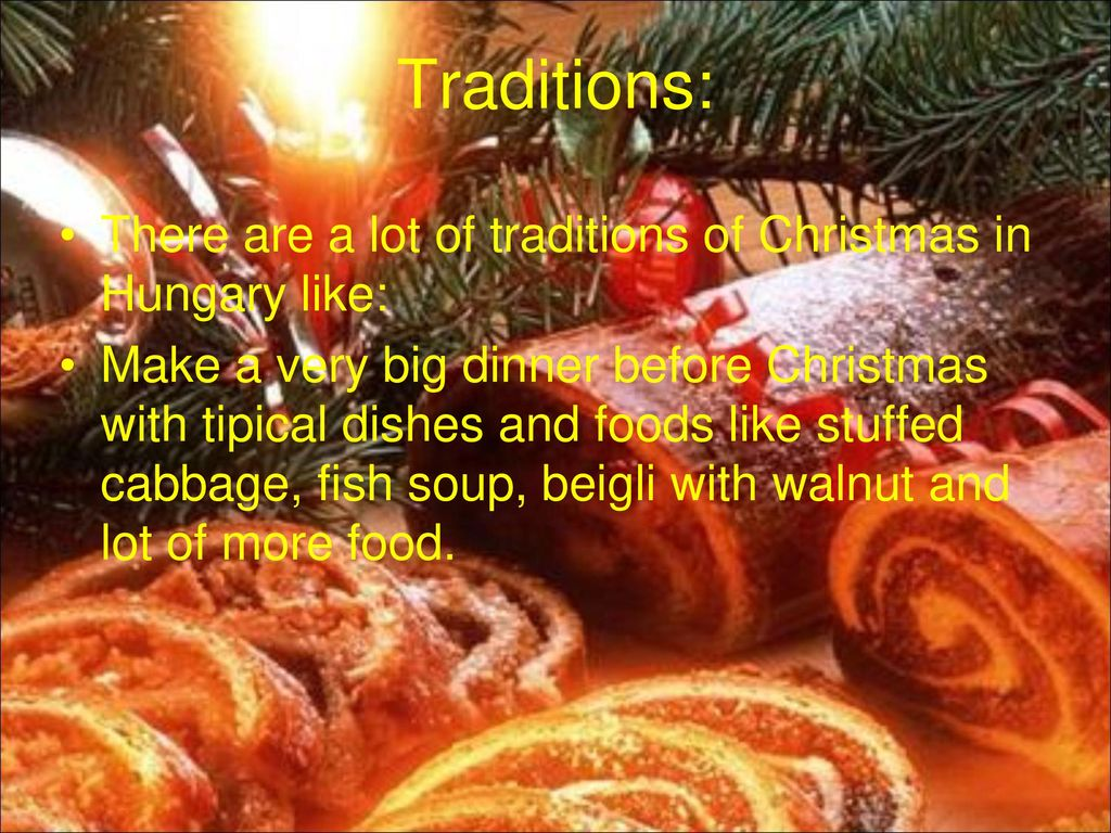 Hungarian Christmas Traditions.Hungarian Christmas Nagy Richard Sandor Hajzer Attila Orosz