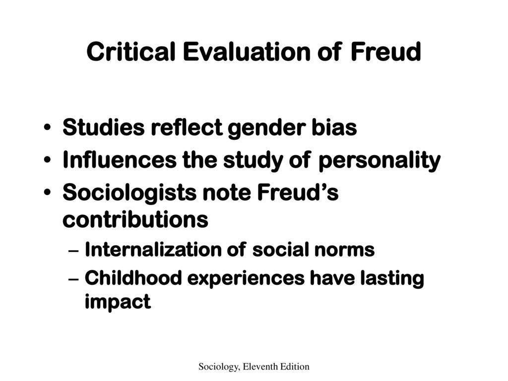 Critical Evaluation of Freud