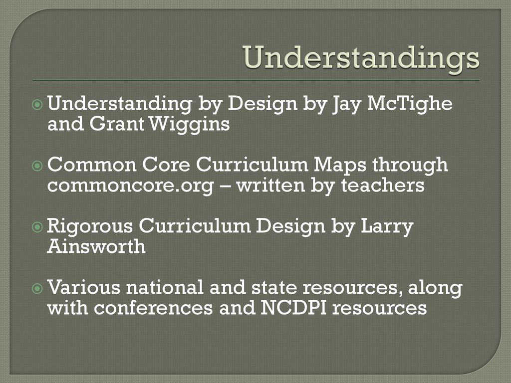 Understanding our Unit Template - ppt download
