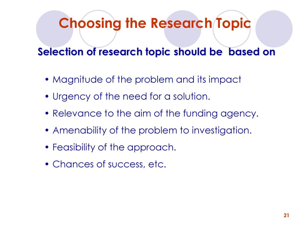 The relevance of the research topic is the most important step on the way to the successful defense of scientific work