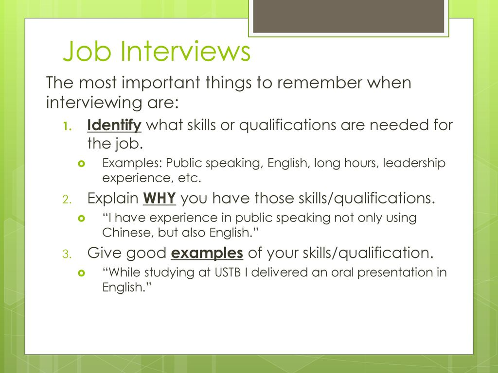 How to Write a Good Resume (in English!) - ppt download