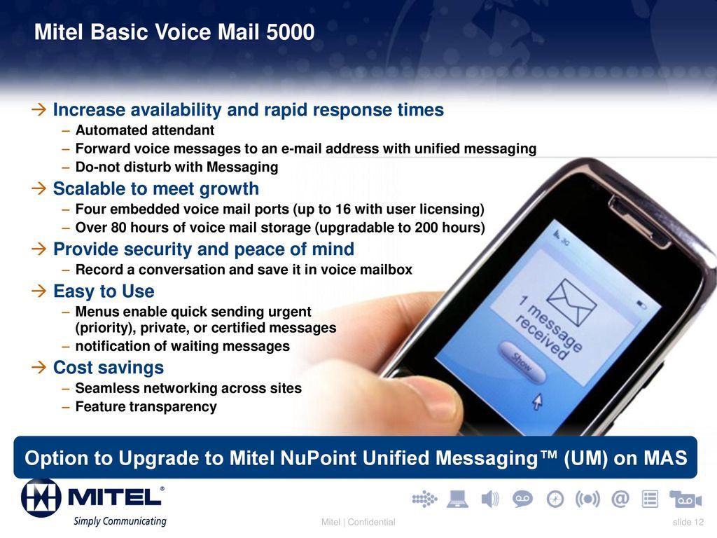 Mitel 5000 Communications Platform (CP) - ppt download