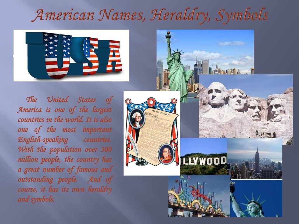 American Names Heraldry Symbols Ppt Download