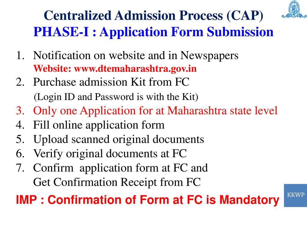 d990897f4b4 13 Centralized Admission Process (CAP)