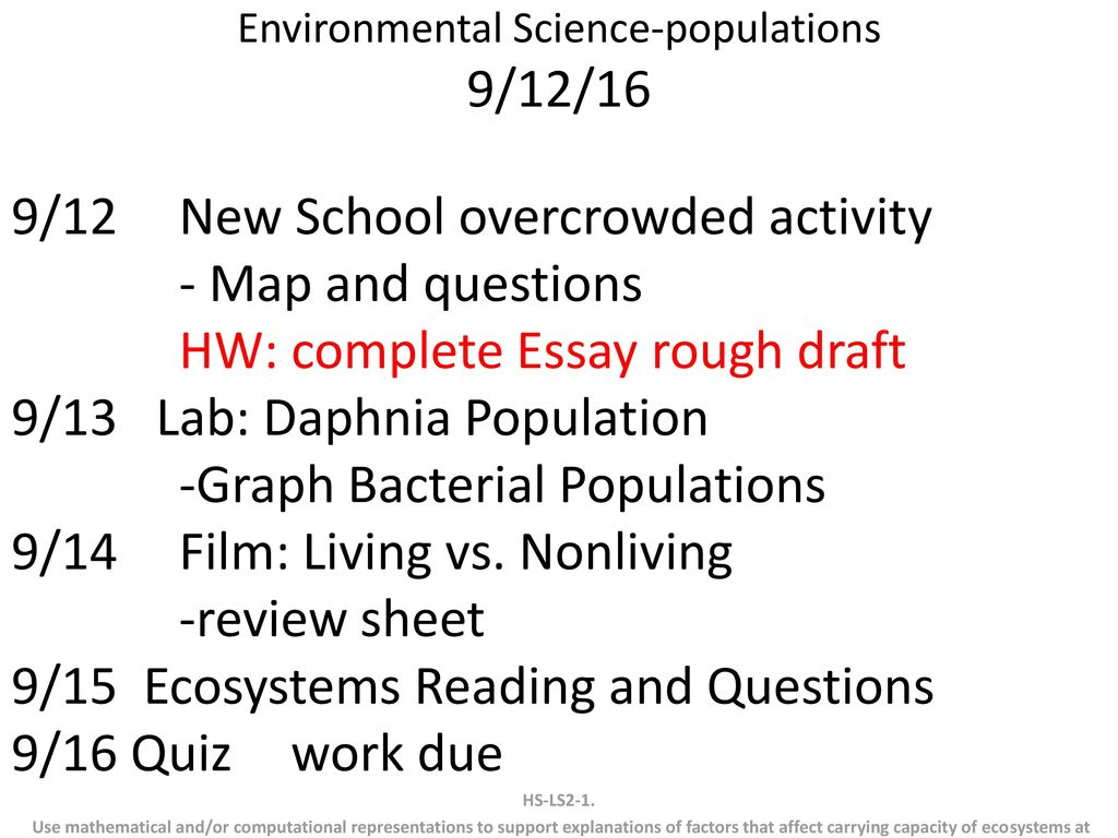 environmental science populations    ppt download