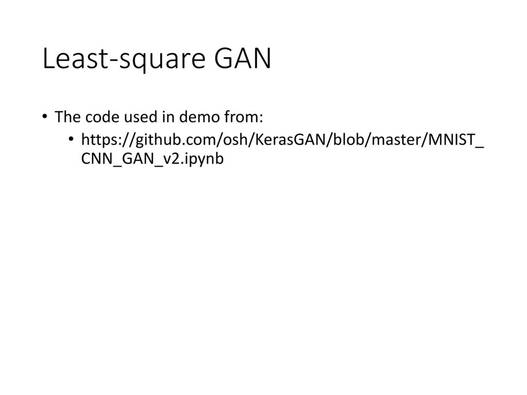 Generative Adversarial Network (GAN) - ppt download
