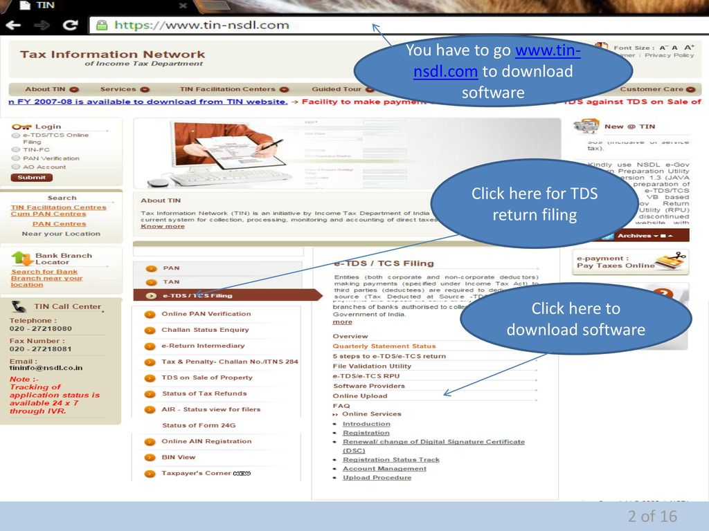 How To File Tds Return Prepared By Help My Biz 1 Of Ppt Download