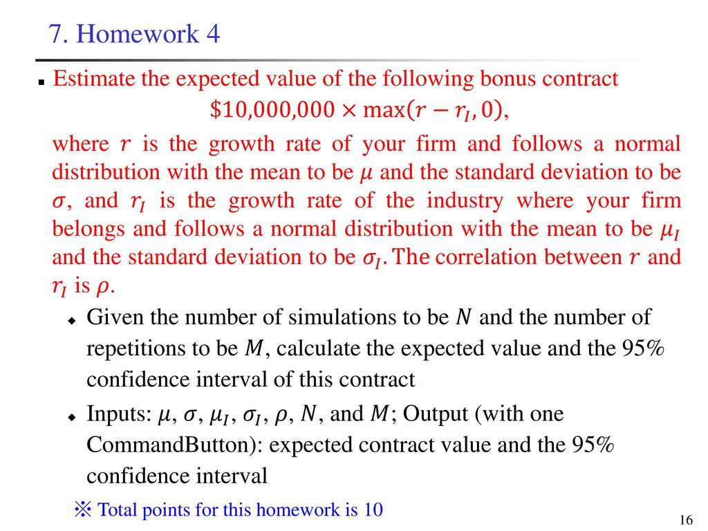 Introduction of Monte Carlo Simulation - ppt download