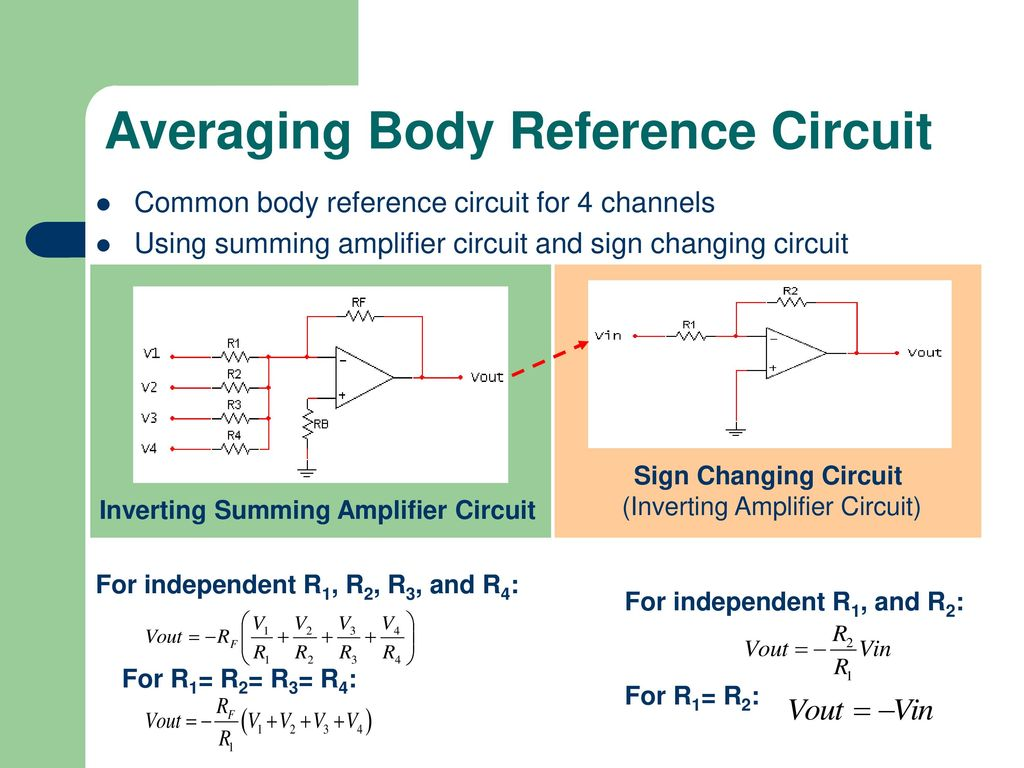 Eye Controlled Operation For Disabled People Using Emg Ppt Download Analog Acquisition Circuit Amplifiercircuit Diagram Averaging Body Reference