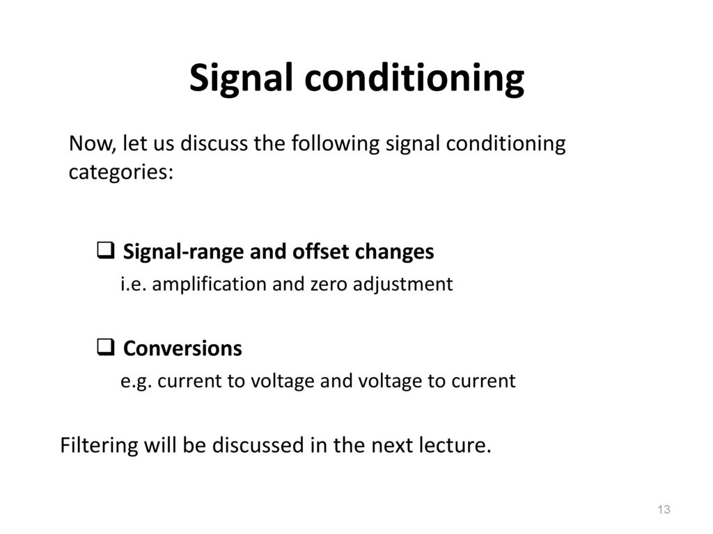 3 Signal Conditioning Ppt Download Opamp Inverting Voltagetocurrent Converter Click The Image To View 13