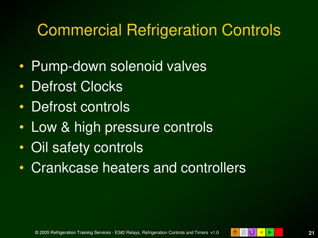 E3 Hvacr Controls And Devices Ppt Download Pump Down Solenoid Wiring Diagram Commercial Refrigeration