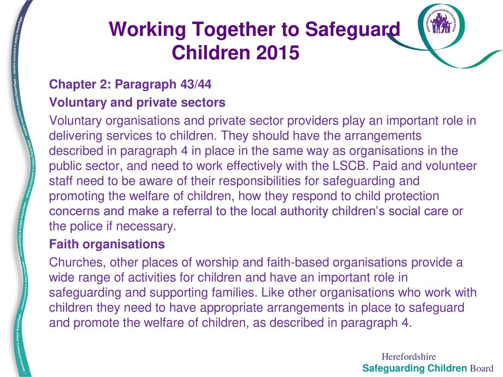 why is safeguarding children important