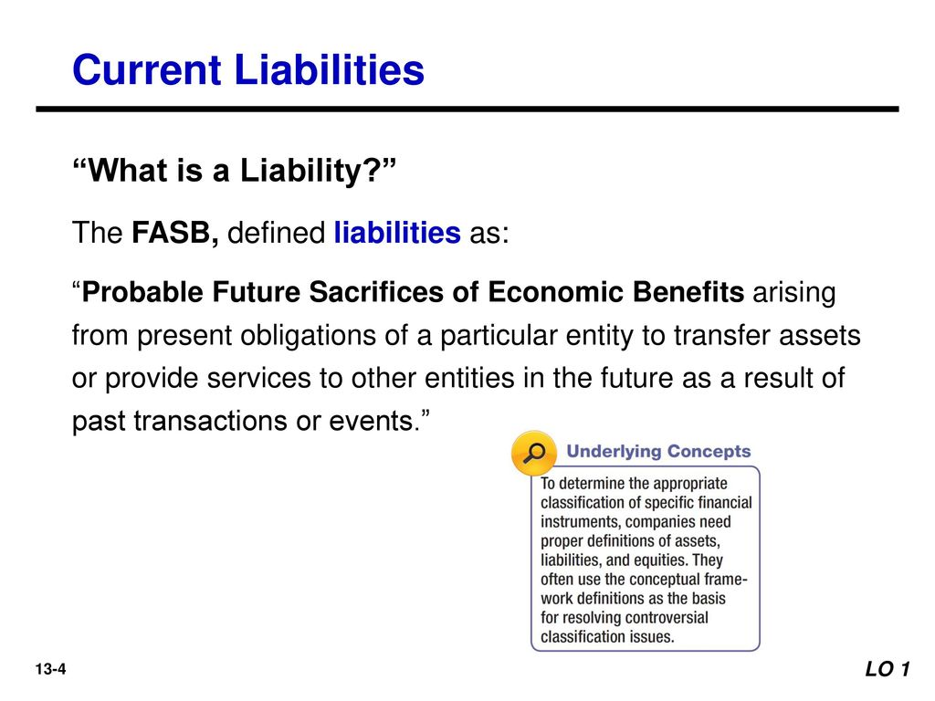 Self liquidating asset definition fasb