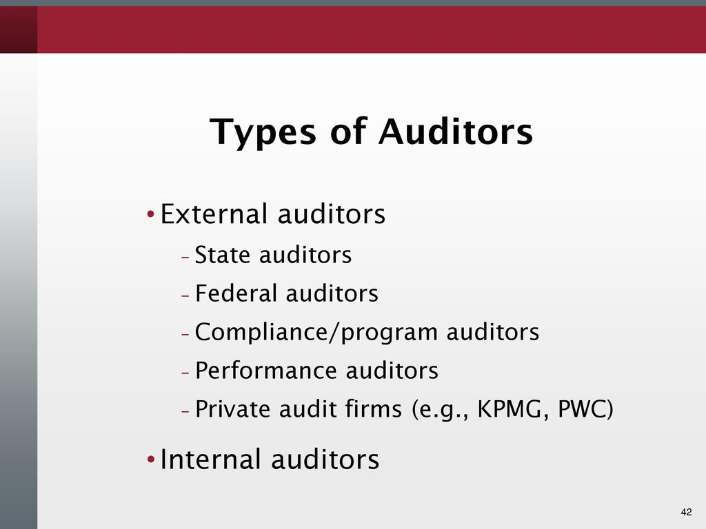 Fiscal Audits and Internal Controls - ppt download