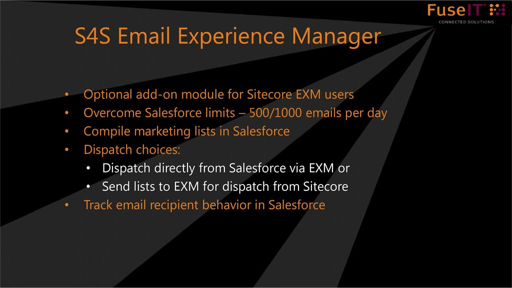 Sitecore to Salesforce Integration - ppt download
