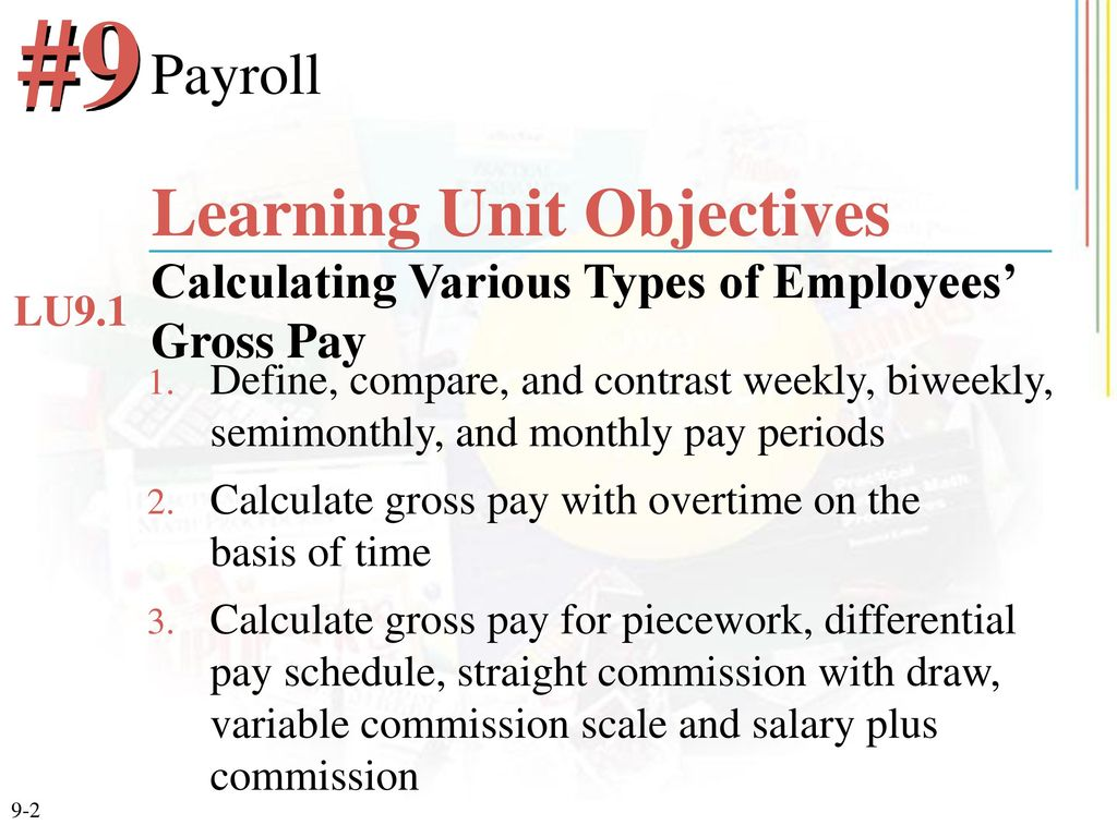 Chapter 9 Payroll  - ppt download
