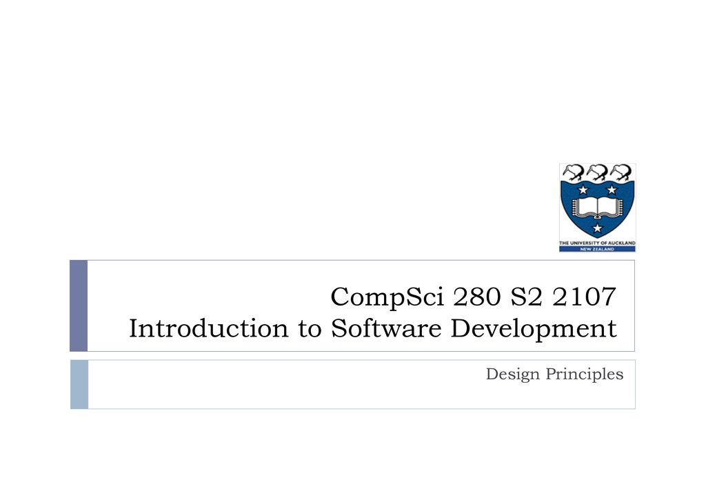 Compsci 280 S Introduction To Software Development Ppt Download