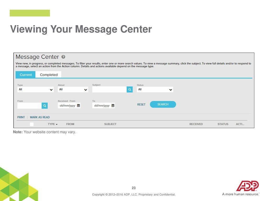Employee Self Service Website - ppt download