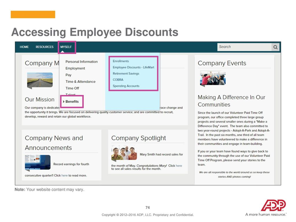 Employee Self Service Website - ppt download