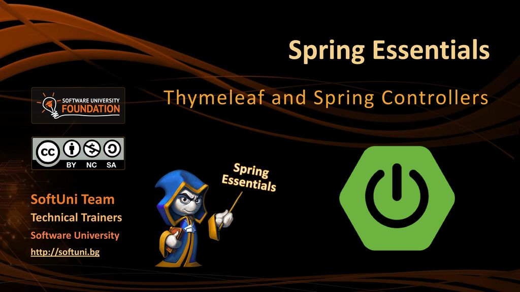 Thymeleaf and Spring Controllers - ppt download