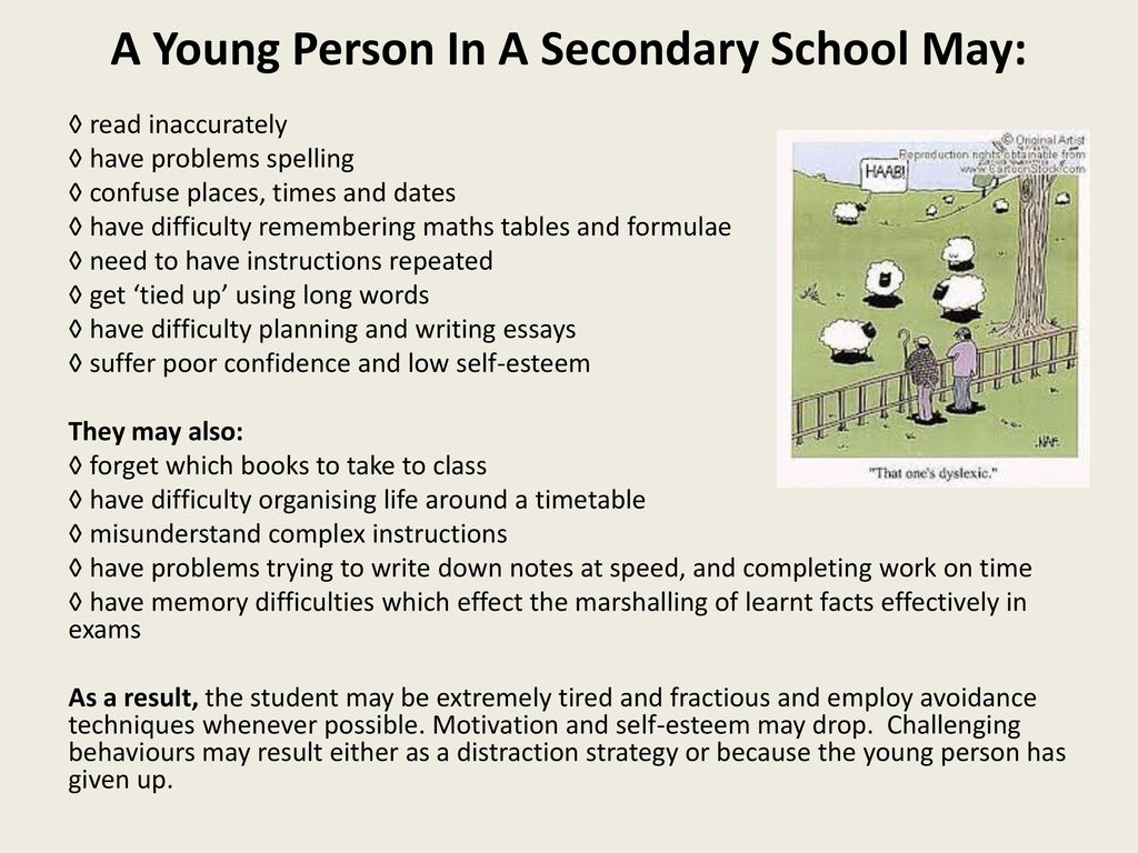 Top Tips for Working with Students with Dyslexia Part 1 - ppt download