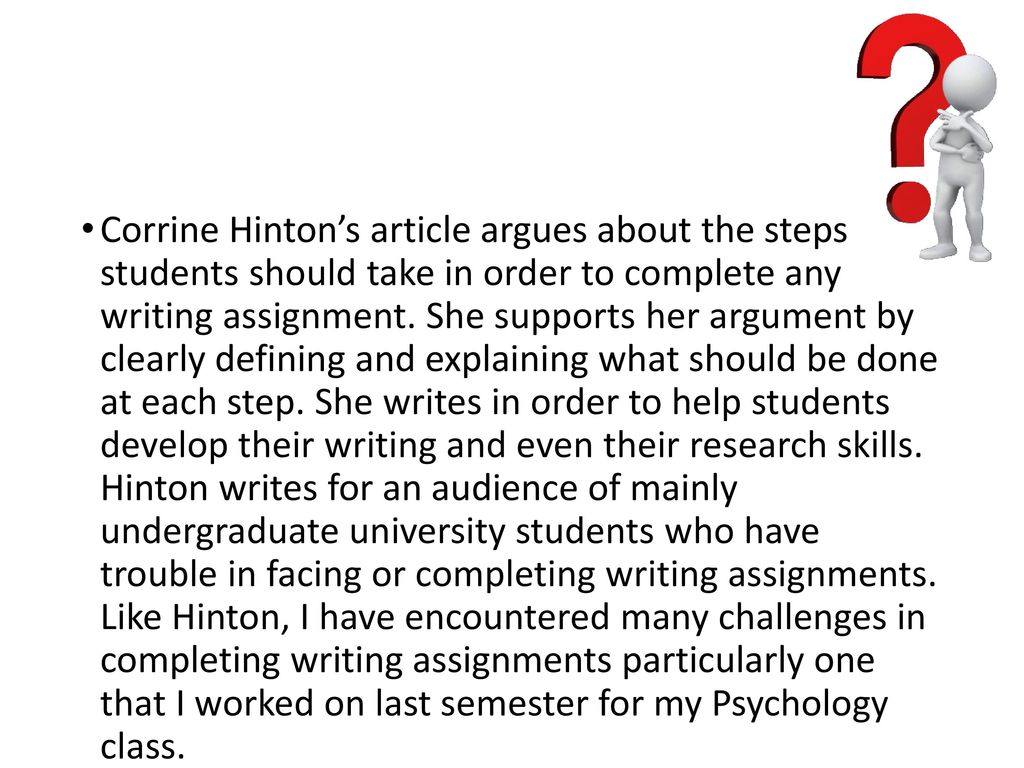 personal writing assignment Start studying writing a personal statement assignment learn vocabulary, terms, and more with flashcards, games, and other study tools.