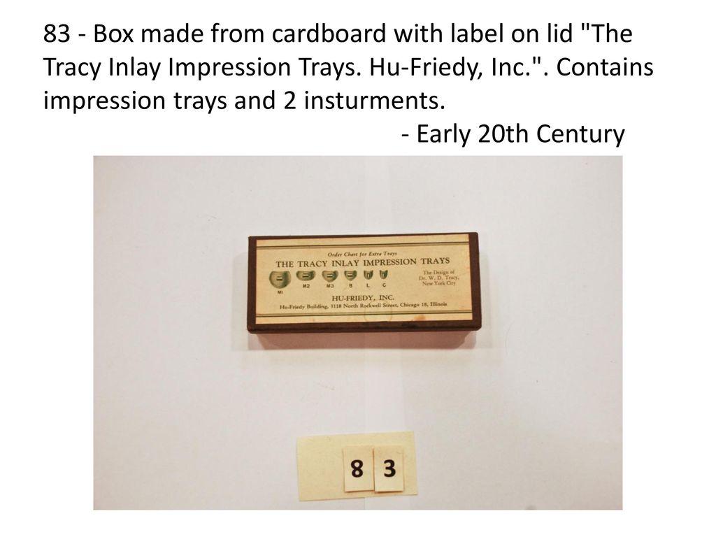 Dental Alumni Museum Display Case – 12 Westmead Level 3 Special