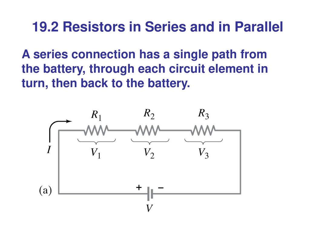 Physics Principles With Applications 6th Edition Ppt Download Resistors In Series Connected 192 And Parallel