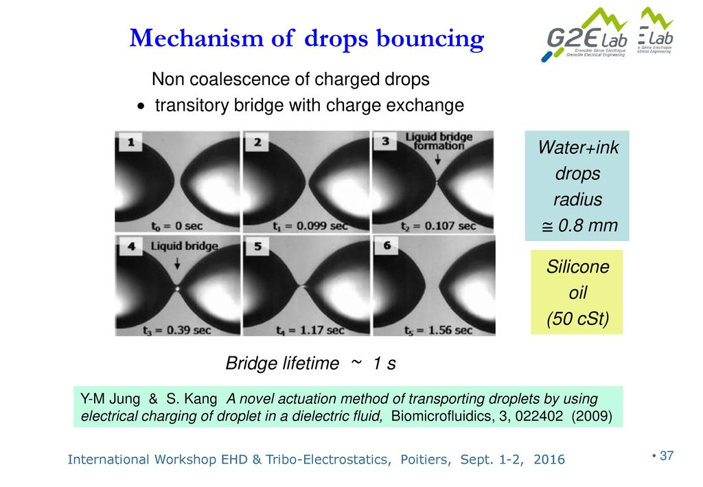 electrohydrodynamics of dispersed drops of conducting liquid from rh slideplayer com
