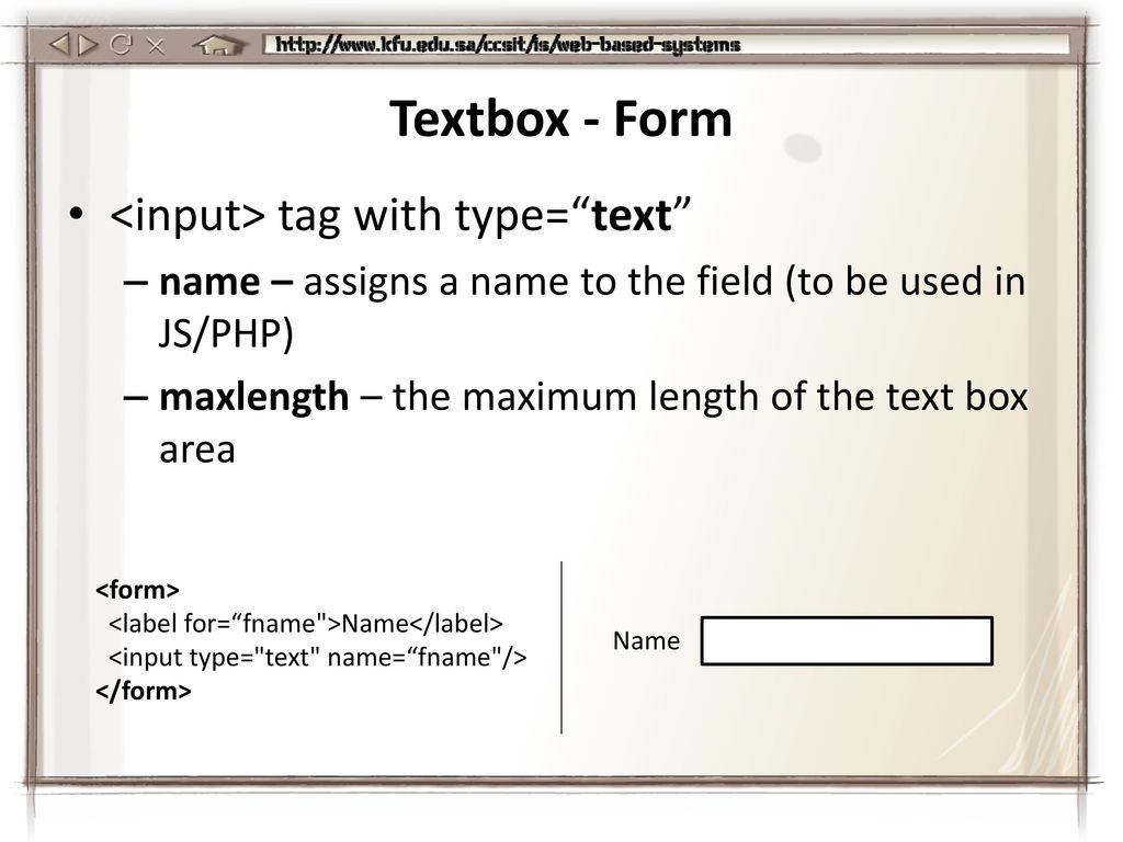 Introduction to HTML: Forms - ppt download