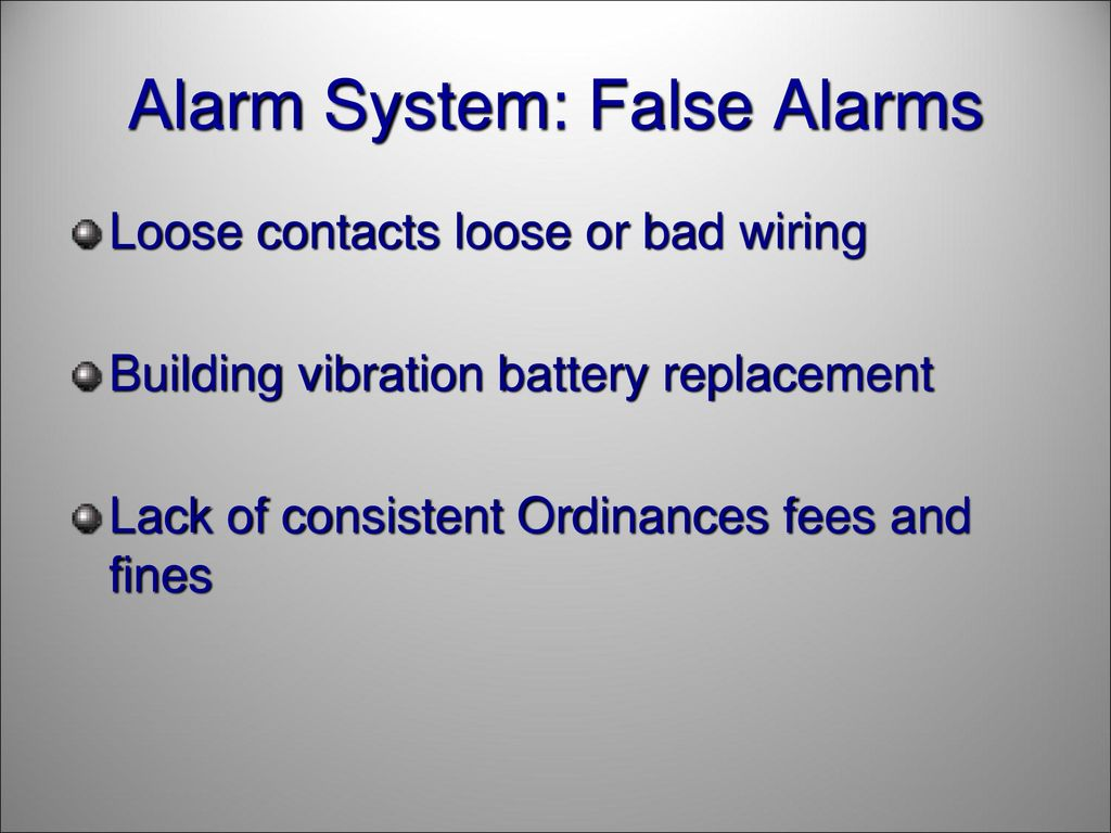 Crime Prevention Part I Security Alarms Ppt Download Contacts Wiring Series 45 Alarm