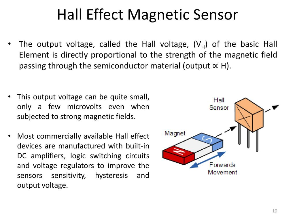 Sensors Actuators For Automatic Systems Saas Ppt Download Hall Effect Diagram Magnetic Sensor
