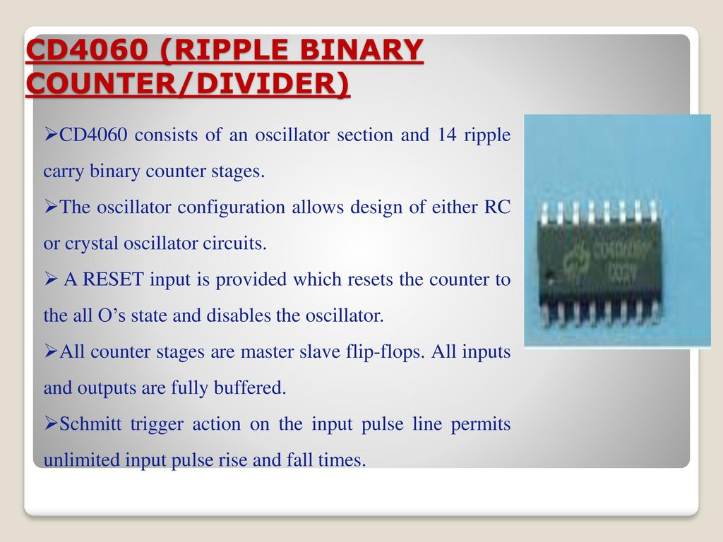 Security Alarm System By Photo Electric Sensor Ppt Download Introduction To Schmitt Trigger Circuits Part 1 Electronic Circuit 7 Cd4060